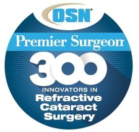 OSN Premier Surgeon - 300 Innovators in Refractive Cataract Surgery Logo
