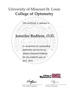 Redfern recognition