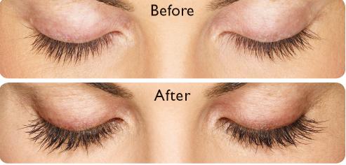 Be careful: False eyelashes can be dangerous. Instead ...